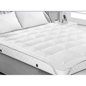 Luxury Double Thick Bounceback Microfibre Mattress Topper - 4 Sizes Available