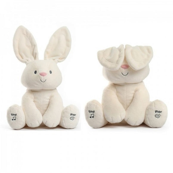 Peekaboo Speaking Bunny Rabbit Plush Toy