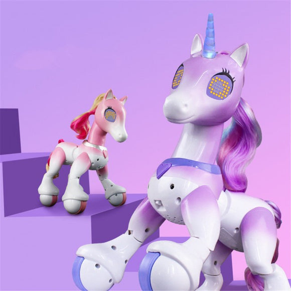 Interactive Remote Control Smart Pony & Unicorn - 2 Colours!