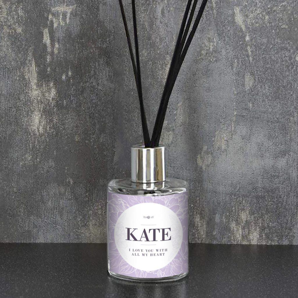 Personalised Purple Reed Diffuser