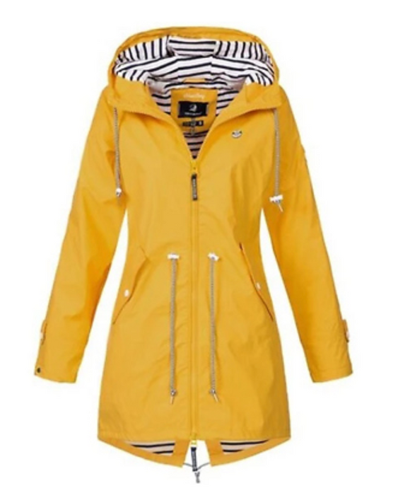 Women's Waterproof Raincoat with Hood - 6 Colours!