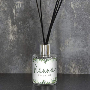 Personalised Floral Reed Diffuser