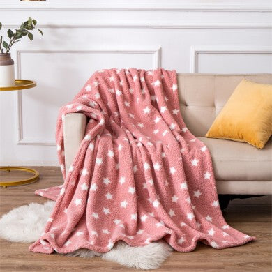 Snuggly Teddy Star Throw