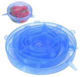 Reusable Stretch and Seal Silicone Lids - 6pc Or 12pc