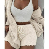 Teddy Knit Loungewear Set