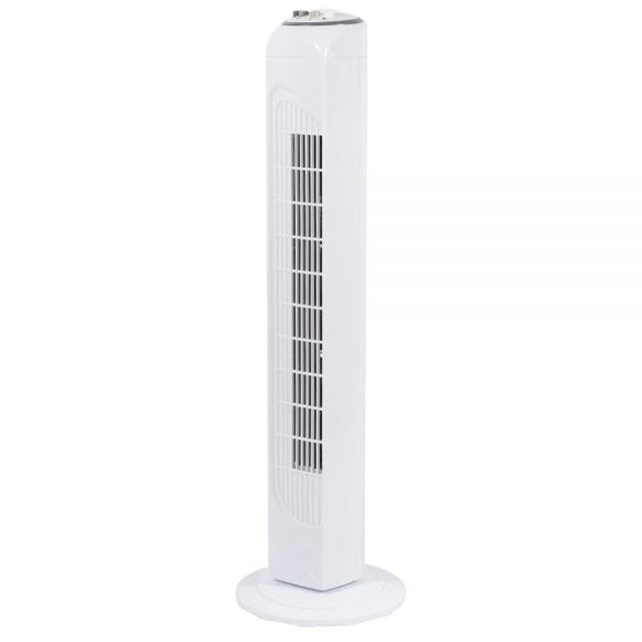 32 Inch Oscillating Tower Fan - 3 Speeds