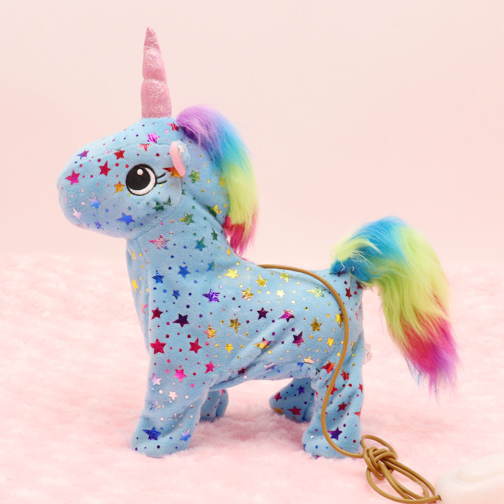 Magical Stars and Sequins Walking Unicorn