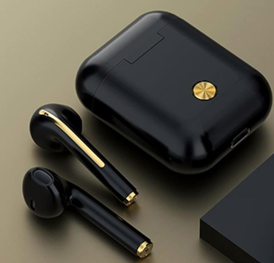 Wireless Bluetooth Earbuds with Touch Control and Charging Case