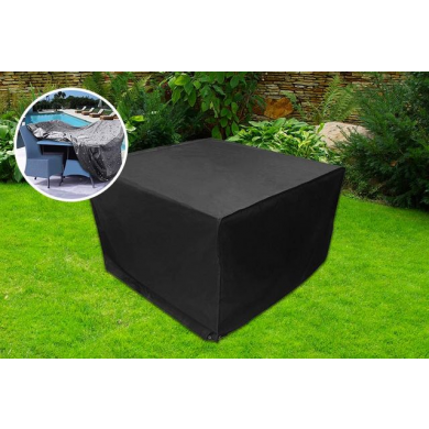 Large Rattan Furniture Waterproof Outdoor Cover