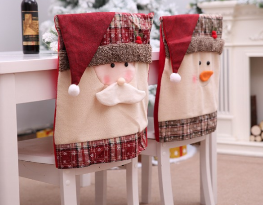 Festive Christmas Chair Cover
