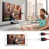 iPhone HDMI TV Adaptor Cable - 3 Colours!