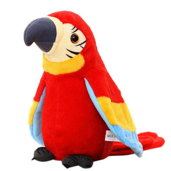Interactive Talking Parrot Plush Toy