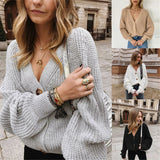 Oversized Knitted Cardigan - 4 Colours