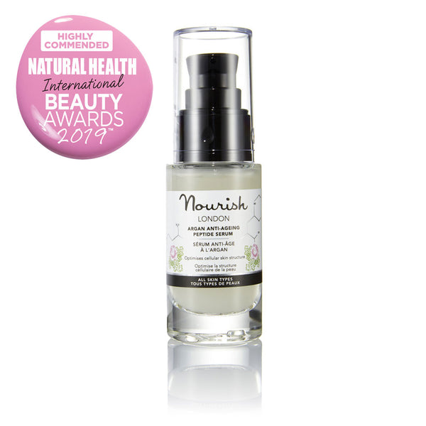 argan anti-ageing peptide serum