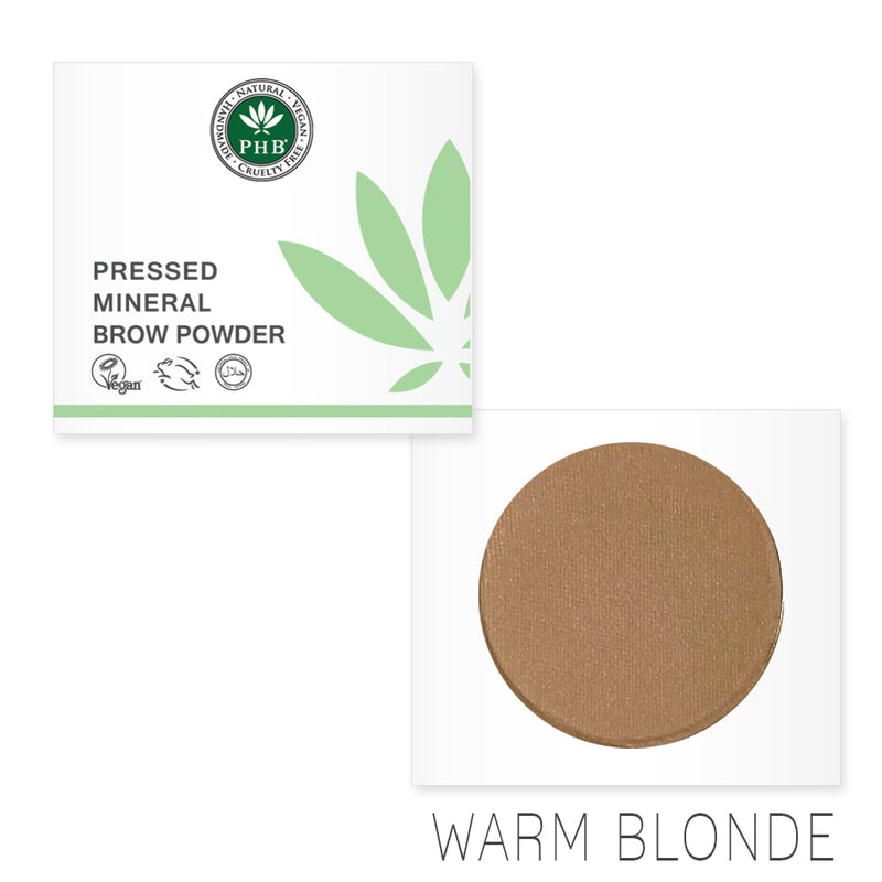 Pressed Mineral Brow Powder - Warm Blonde