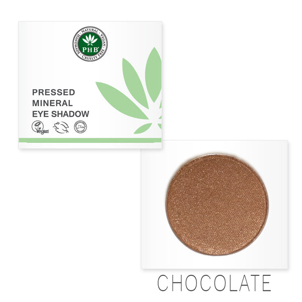 Pressed Mineral Eye Shadow - Chocolate