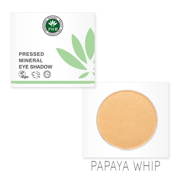 Pressed Mineral Eye Shadow - Papaya Whip