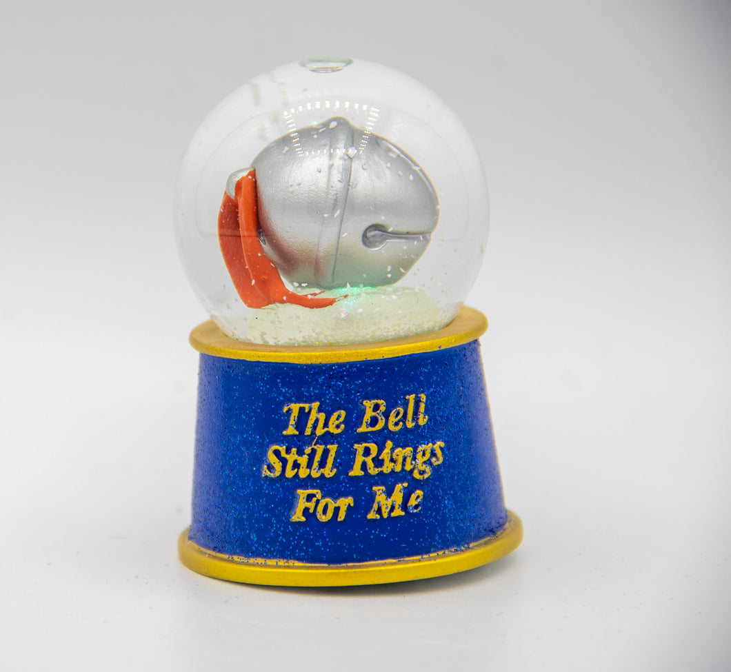 The Polar Express Lighted Snow Globe Bell