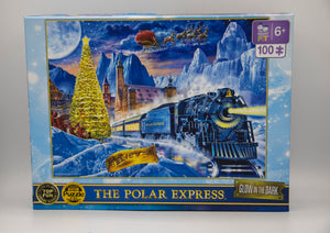 The Polar Express Glow in the Dark Puzzle