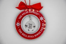 Load image into Gallery viewer, The Polar Express Jingle Bell Ornament Holder