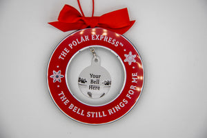 The Polar Express Jingle Bell Ornament Holder
