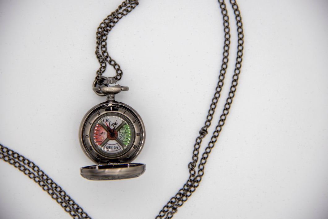 The Polar Express Pendant Watch Necklace