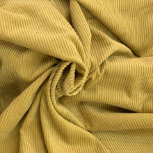 Load image into Gallery viewer, Anise Green light weight Corduroy Velvet, cotton 100%, for a 70s inspired vibe and an absolute retro appeal.