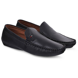 Black Stylish Synthetic Casual loafer Shoes