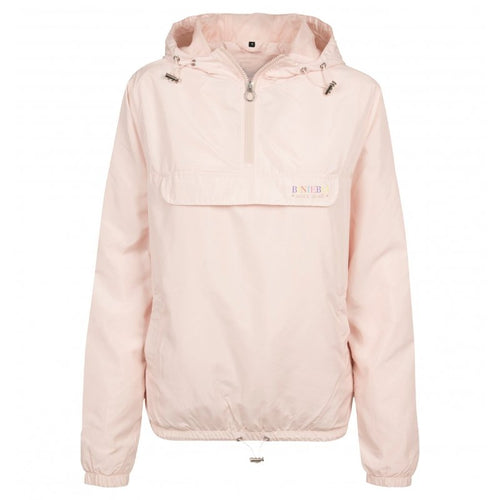 SUMMER PULL OVER JACKET - PASTEL PINK - Biniebo