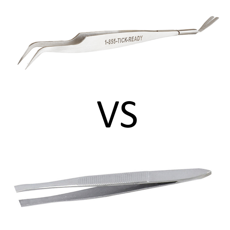 TickEase vs Household tweezers