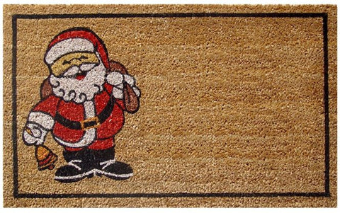 Happy Santa Doormat