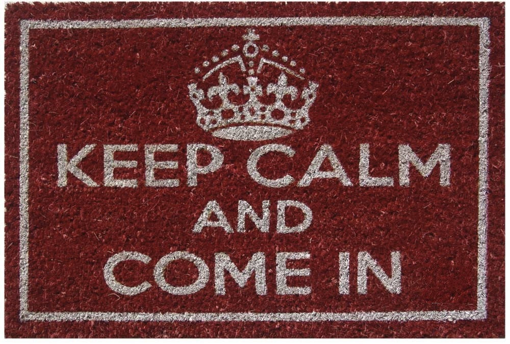 Keep Calm Doormat