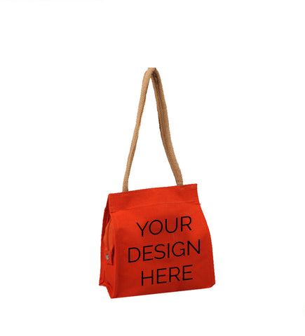 Customized Fancy Red Bag