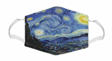 The Starry Night Art Mask