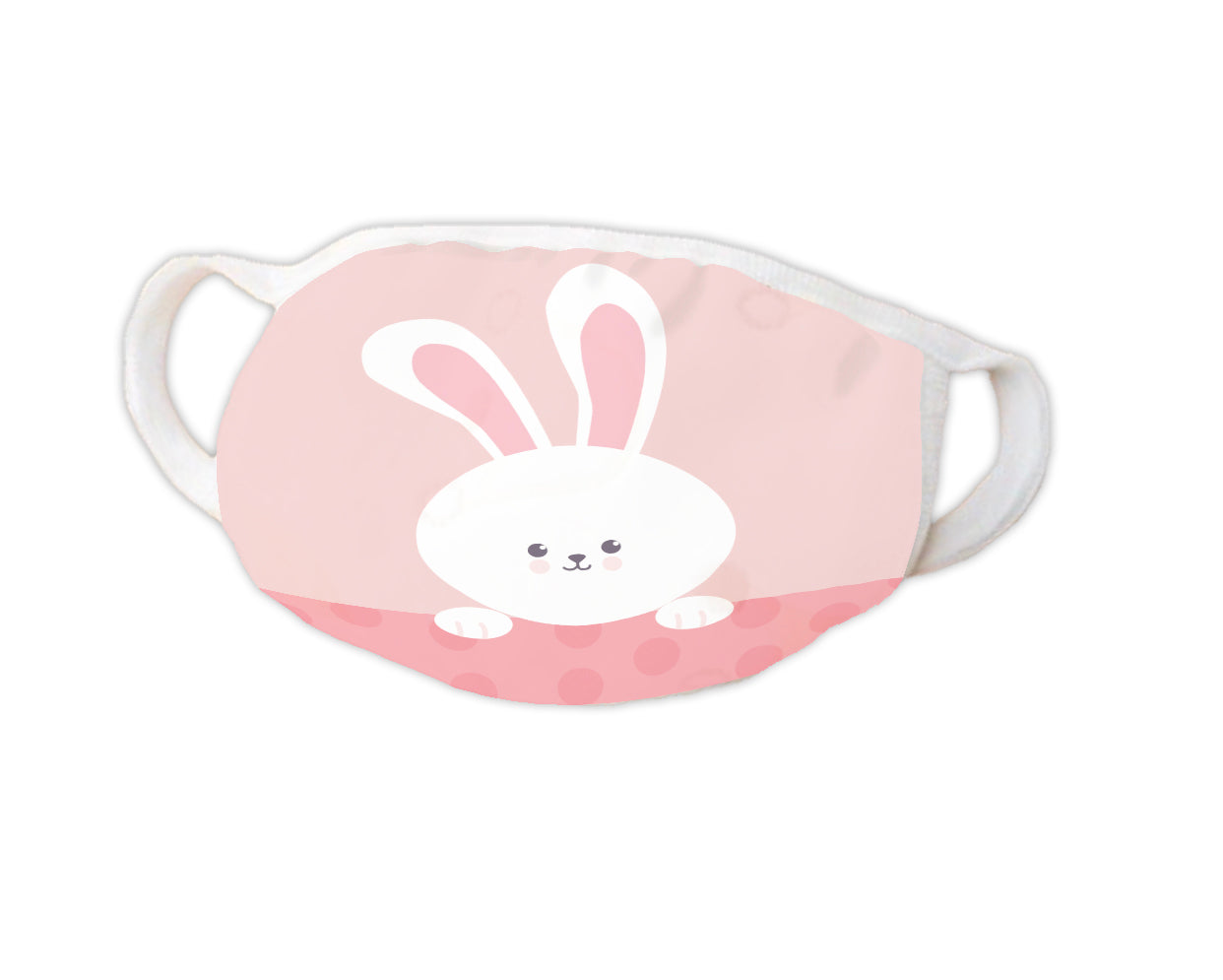 White Bunny Children Mask
