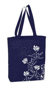 Floral on Blue 1 Bag
