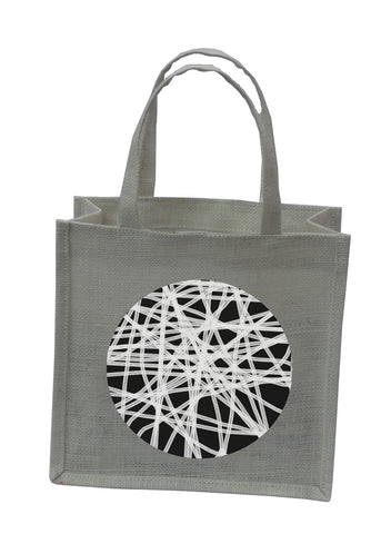 Abstract Circle 2 Bag