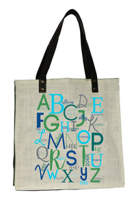 ABC Blue Bag