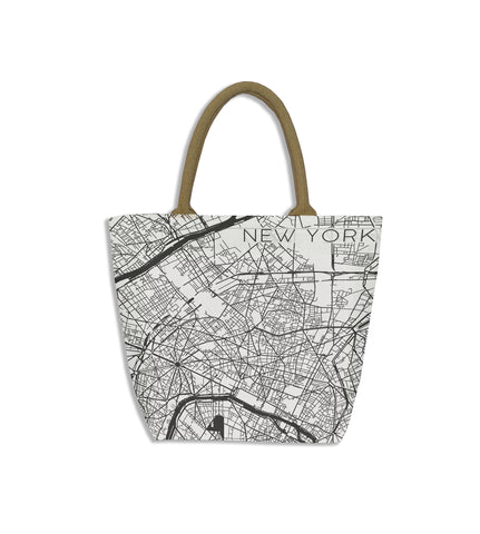 New York Map Bag