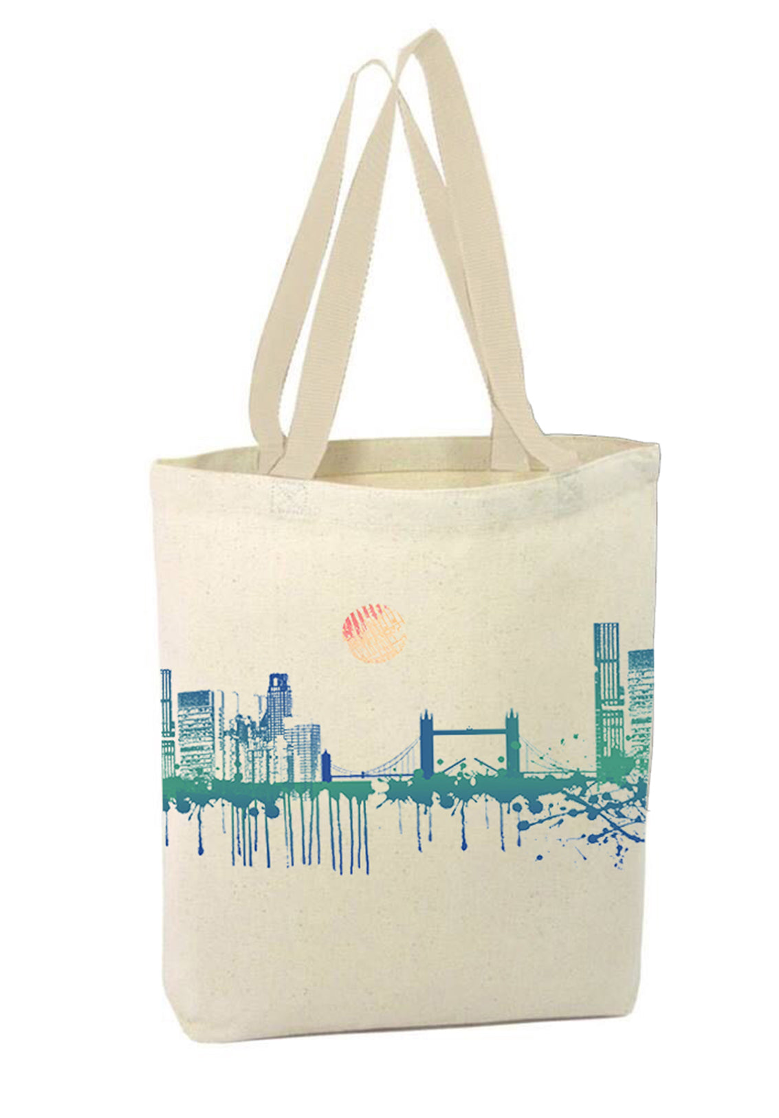 Blue City Bag