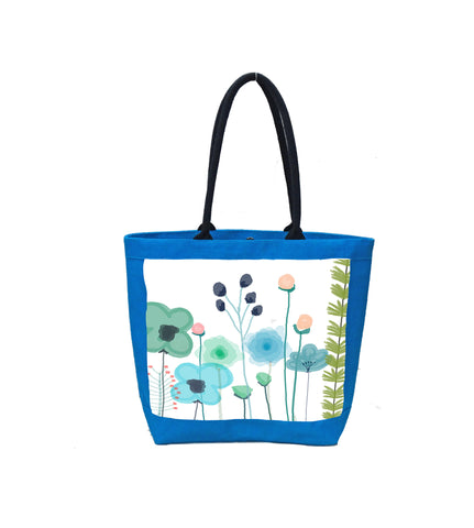 Blue Flowers II Bag