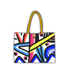 Colorful Abstract II Bags