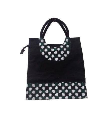 Daisies Black Bag