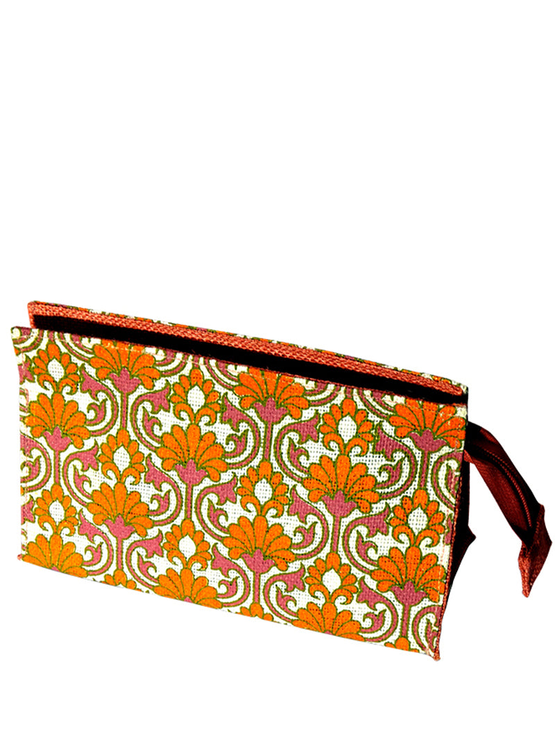 Orange Patterns Bag