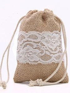 Natural-Lace Pouch