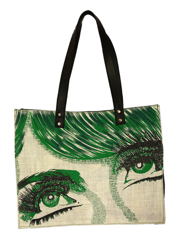 Green Face Regular Bag