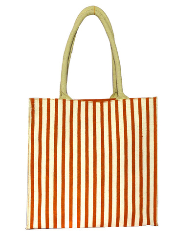 Orange Stripes Bag