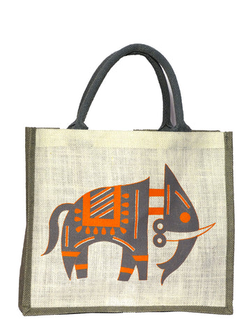 Gray Elephant Bag