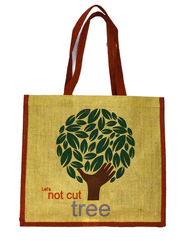 Eco Tree Red Bag