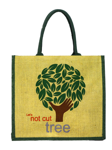 Eco Tree Green Bag